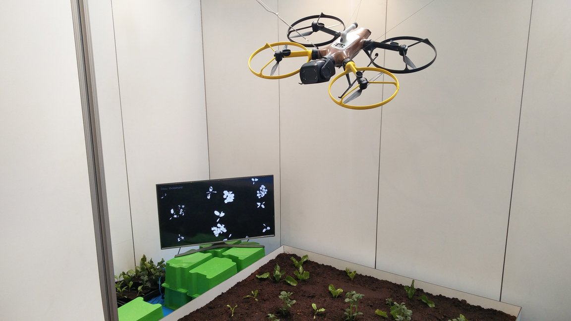 Weed mapping drones